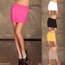 Cotton Blend Short/Mini Party Plus Size Skirts for Women