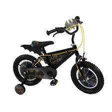 Batman 14 Inch Child Kids Bat Bike Cycle Bicycle - Black & Yellow