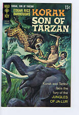 Korak Son of Tarzan #27 Gold Key Pub 1969