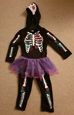 New Toddlers Skeleton Jumpsuit Costume Halloween Outfit Girls Aged 18-24 Months