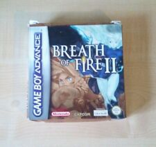 Breath of Fire II 2 Game Boy Advance complete with box