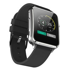 M88 Black Bluetooth4.0 Smart Watch Phone GSM Quad Band Pedometer for IOS Android