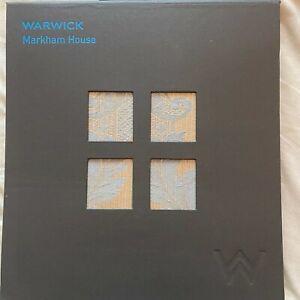 Warwick - Markham House      - Fabric Sample Book
