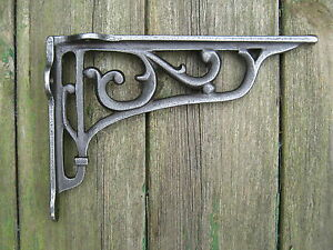 Cast Iron Shelf Bracket Traditional Extra Long 220mm x 152mm Vintage style X1