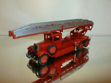 USSR CCCP OMO JHC LADDER TRUCK - FIRE ENGINE - RED 1:43 - GOOD CONDITION