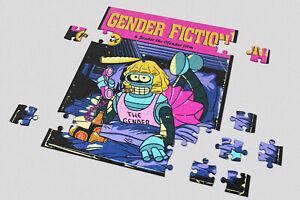 Heart 201/500/1000 Pieces Jigsaw Puzzles Futurama Bender Pulp Fiction Mia Pose