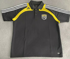 ADIDAS COLUMBUS CREW MLS POLO SHIRT MENS LARGE