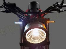 HONDA REBEL 300 500 CMX FRONT LED TURN SIGNAL KIT W RUNNING LIGHTS CMX300 CMX500