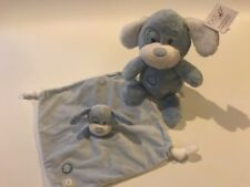 Chad Valley Blue My First Puppy Dog & Comforter BLANKIE Doodoo Soother