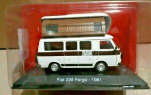 Motorhome Fiat 238 Fargo 1981   1/43 New & box camper camper