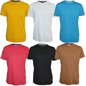 Men's Soul Star Longline T-Shirt Crew Neck Short Sleeve Plain 100% Cotton Top