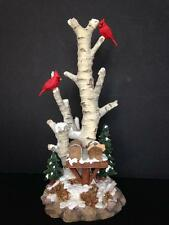 Dept 56 Birch Tree Cluster 52631 Cardinal & Mailboxes