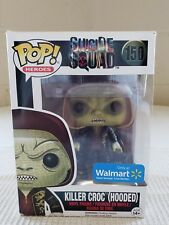 FUNKO POP DC HEROES SUICIDE SQUAD KILLER CROC #102 (HOODED) WALMART EXC In Stock