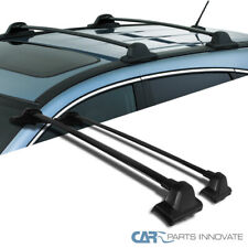 Fit Honda 07-11 CRV CR-V Black Roof Top Cross Bars Crossbars Rail Rack Carrier