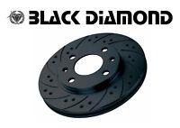 Black Diamond DISCHI FORATI BAFFATI ANTERIORI FIAT COUPE 2.0 20V TURBO IMP.BREMB