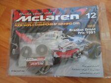ISSUE 12 DEAGOSTINI 1/8 BUILD YOUR OWN MCLAREN MP4/23 LEWIS HAMILTON 2008 F1 CAR