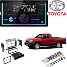 JVC 2-Din In-Dash Car Stereo CD Player Dash Kit for 2005-2011 Toyota Tacoma