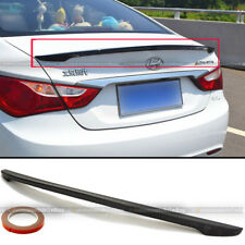Fit 11-14 Hyundai Sonata OE Style Unpainted Rear Trunk Deck Lip Wing Spoiler