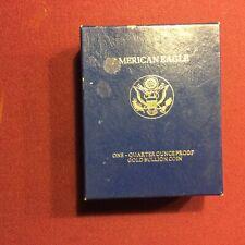 American Eagle 1/4 ounce gold coin