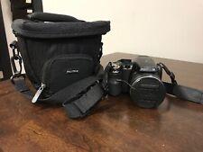 FujiFilm FinePix S4530 14MP black 30X Zoom point & shoot camera w/ case - CV336