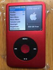Apple iPod Classic 7th generazione Custom Rosso/Nero (1 TB) SSD