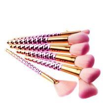 Luxury 7Pcs Honeycomb Pencil Foundation Eye shadow Eyeliner Makeup Brushes SET