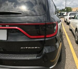 2014-2021 Dodge Durango Taillight Smoke PreCut Vinyl Tint Overlay Smoked Kit