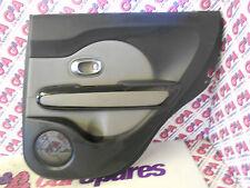 2014 KIA SOUL OFFSIDE DRIVERS SIDE REAR DOOR CARD WITH WINDOW SWITCH 13-2016