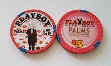 $5 Las Vegas Palms Playboy Club Rabbit Casino Chip - Uncirculated