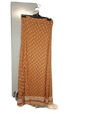 Faithful The Brand brown and white maxi skirt in size 8