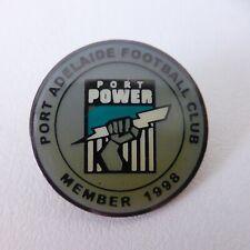 PORT ADELAIDE FOOTBALL CLUB 1998 POWER Member Badge