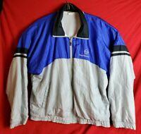 Vintage Sergio Tacchini Men Size 42 Full Zip Tracksuit Top Windbreaker Jacket