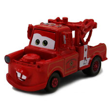 MT Cars 2 Red Rescue Squad Mater Metal Toy Car 1:55 Loose Kids Toy Vehicle