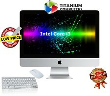 Apple Imac 21.5-INCH 3.06GHZ Ci3 Mid-2010 4gb Ram 500gb HDD DVD Mac OS X Sierra