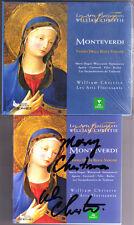 Willaim Christie firmato Monteverdi Vespro della Beata Vergine cima Sonatas 2cd