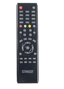Original Fernbedienung Schwaiger DSR6600HDCI Sat Receiver Remote Control Wie Neu