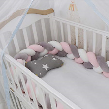 Lion Paw Crib Bumper Pillow Cushion 78.7in Crib Sides Protector Infant Cot Rails