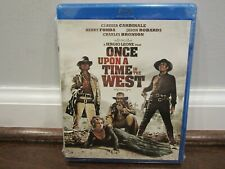 Once Upon a Time in the West (Blu-ray Disc) Henry Fonda Claudia Cardinale Sealed
