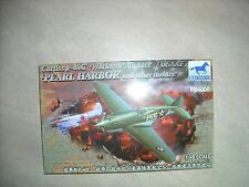 Bronco-1/48-#Fb4008-Curti ss P-40C 'Warhawk'-Pea 00004000 Rl Harbor And Other Theatres