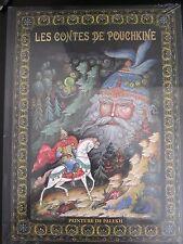 Les contes de Pouchkine. Peinture de Palekh Fairy Tales Pushkin France edition