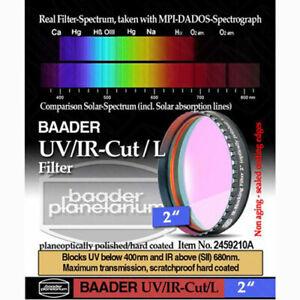 "Baader Planetarium 2"" UV IR CUT Filter # FUVIR-2 # 2459210A"