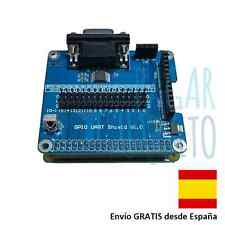 Shield GPIO UART Raspberry PI conector puerto monitor vga tarjeta expansion