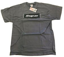 NEW WITH TAGS Grey SNAP ON TOOLS T Shirt Short Sleeve XL In Original Packaging