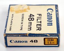 CANON Filter 48mm CCA4 1,5X WARM UP