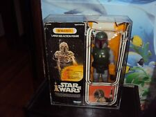 KENNER STAR WARS BOBA FETT  CASES THIS SALE IS FOR ACRYLIC CASES ONLY NO TOYS