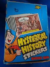 HYSTERICAL HISTORY - 1976 TOPPS HOBBY BOX (36) CLASSIC PACKS ! RARE ! LQQK !