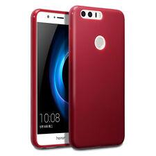 Original Huawei Honor 8 Case Genuine Hybrid Tech TPU Gel Rugged  Bumper Red