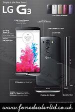 LG g3 d855 Nero Sbloccato/SIMFREE 4g LTE Smartphone