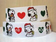 Snoopy Navidad Cinta 7/8' ancho nuevo vendedor Reino Unido Libre P&P