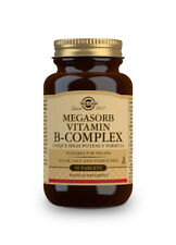 Solgar Megasorb Vitamin B-Complex High Potency Formula 50 Tablets